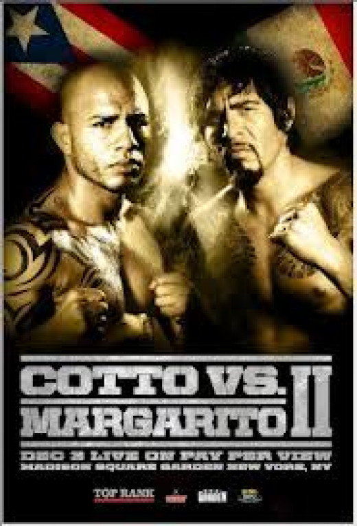 Miguel Cotto fought a rematch with Antonio Margarito and gained revenge by stopping the tough Mexican.