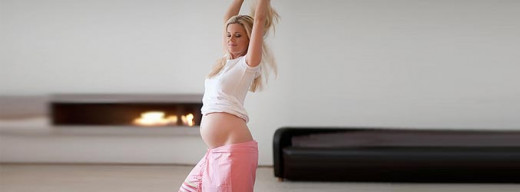 The joy of dancing while pregnant!