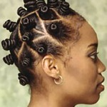 Diamond Shaped partings for a beautiful Bantu knot