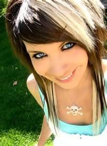 Well-placed highlights can dramatically improve your appearance.  Go to a salon for all-over color and a good haircut.