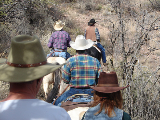 Trail riding is a great activity for you and your mount.