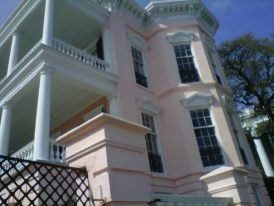 Beautiful columns and architectural dreams can be found in Charleston County, South Carolina!