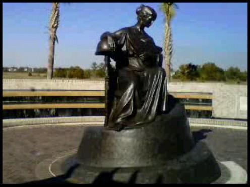 War Memorial at Mount Pleasant Waterfront Park Mount Pleasant  Charleston County  South Carolina