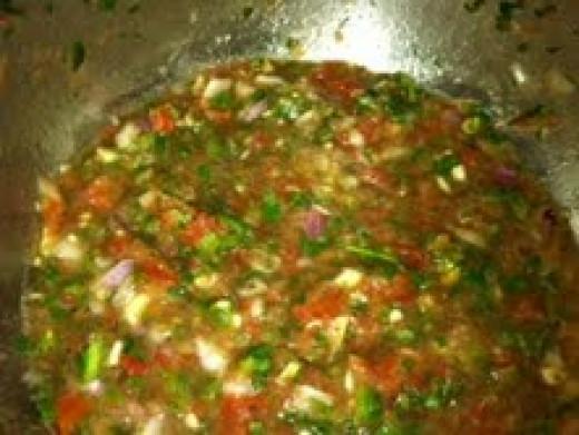Pico de Gallo aka salsa fresca