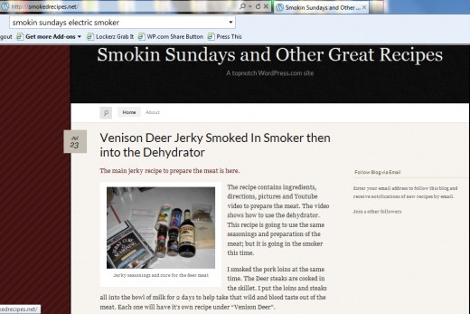 Brenda Green's personal food blog. Many of Giada's side dishes compliment the smoked recipes I use. smokedrecipes.net