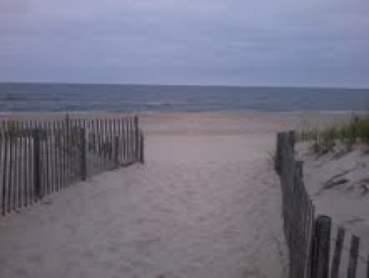 LBI DAYS BEFORE HURRICANE SANDY. NOW IT IS ALL GONE. NO DUNES AND COMPLETELY FLAT.