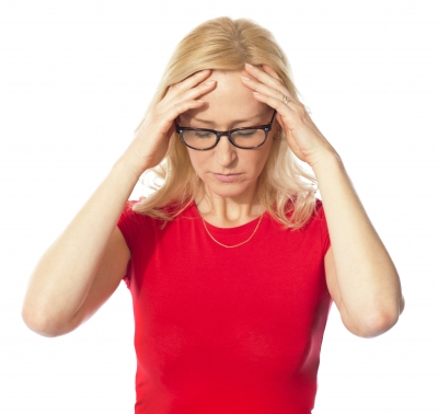 The frustration of perimenopause can take a toll on a woman's daily life.