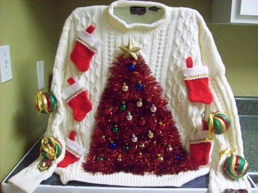 White Christmas Sweater