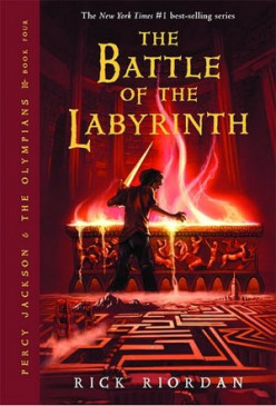 The Battle of the Labyrinth (Percy Jackson and the Olympians, #4) by Rick Riordan