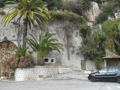 Small bunker, Pont-Saint-Louis, Menton; part of the Maginot Line