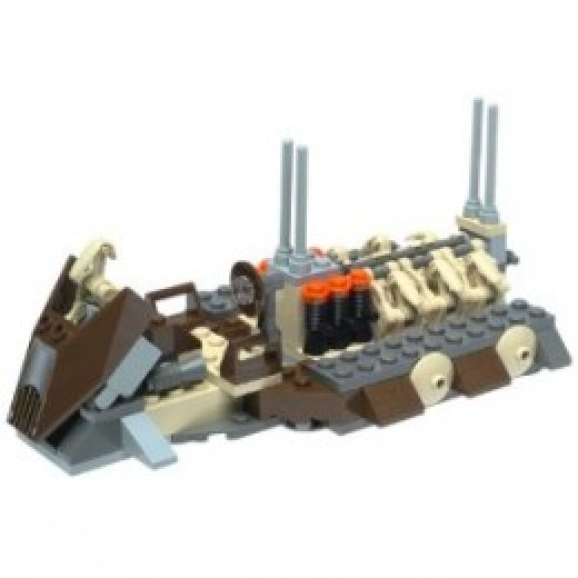 Lego Star Wars Battle Droid Carrier 7126 Assembled