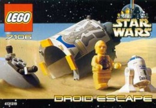 Lego Star Wars Droid Escape 7106 Box