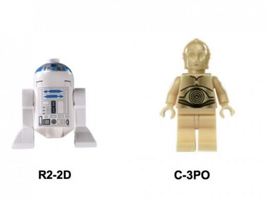 Lego Star Wars Droid Escape 7106 Minifigures