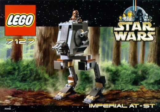 Lego Star Wars Imperial AT-ST 7127 Box