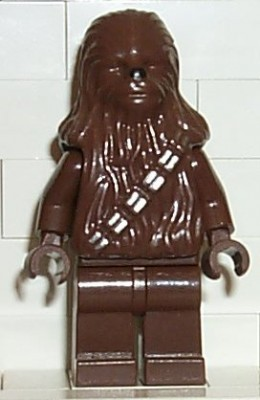 Dark Brown Chewbacca Lego Minifigure