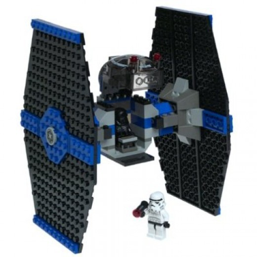 Lego Star Wars  TIE Fighter 7146 Assembled