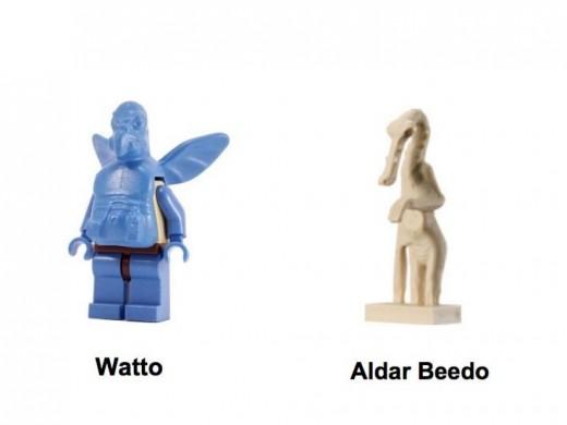 Lego Star Wars Watto's Junkyard 7186 Minifigures