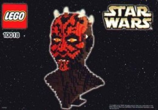 Lego Star Wars Darth Maul 10018 Box