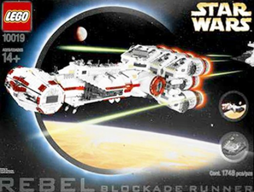 Rebel Star Wars Blockade Runner 10019 Box