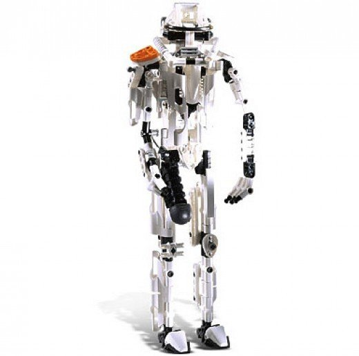 Lego Star Wars Technic Stormtrooper 8008 Assembled