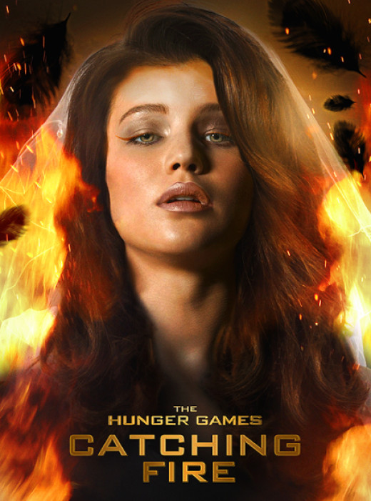 Katniss Everdeen in The Hunger Games 2 - Catching Fire