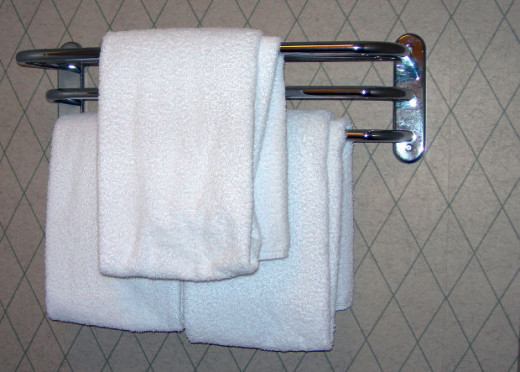 Towels in Hotel