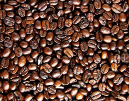 Freshly ground coffee beans are best