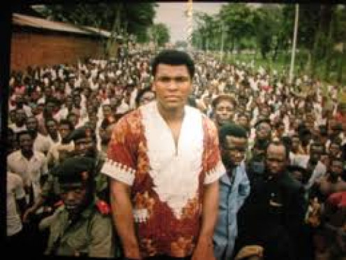 Muhammad Ali had all of Africa on his side when he knocked out George Foreman in Zaire to reclaim his Heavyweight Crown.     Source: Sports Illustrated : November 1974
