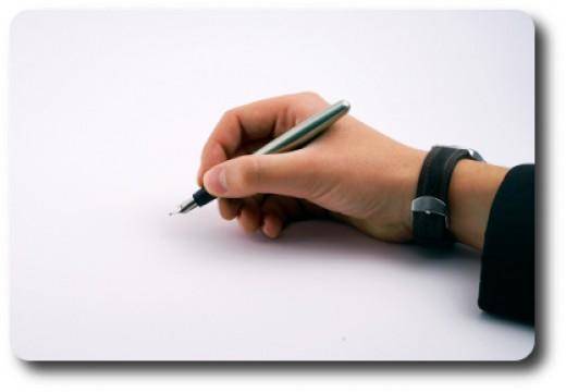 I Am A Writer!