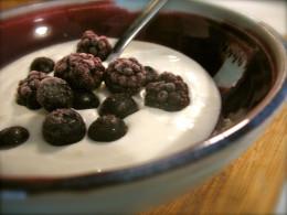 I love my homemade yogurt!