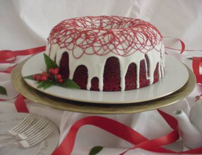 How about trying something new for your birthday, such as a slice of  Red Velvet cake?