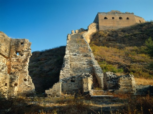Great Wall of China near Beijing
