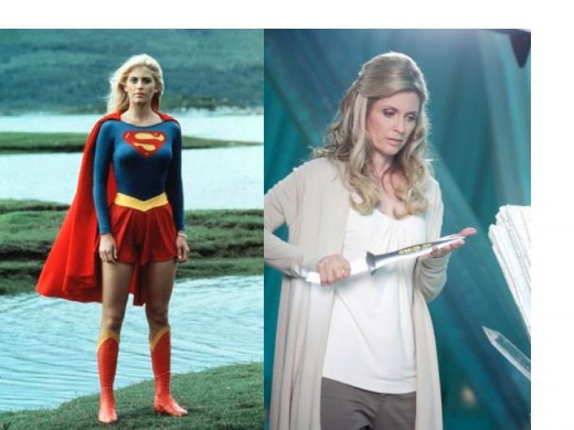 Helen Slater as Supergirl and Lara-EL