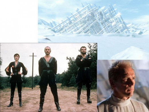 Terence Stamp, Fortress of Solitude & Julian Sands