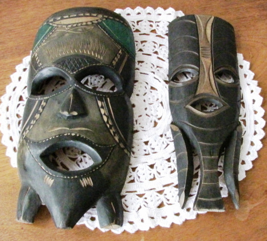 Masks from Mozambique