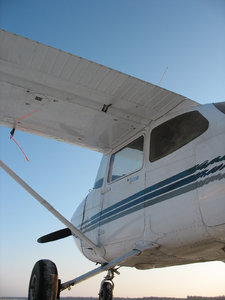 This is similar to the Cessna I flew