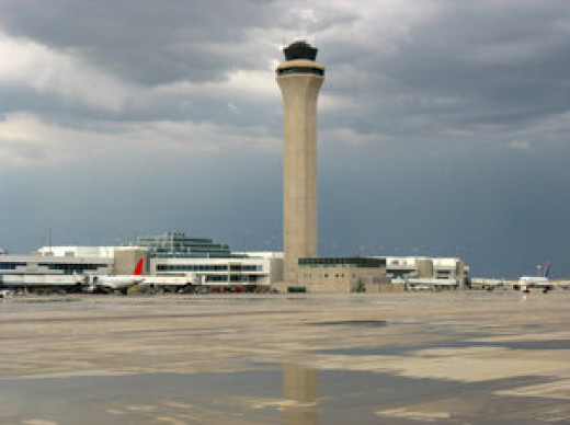 There  are control towers in most airports except very small airstrips.