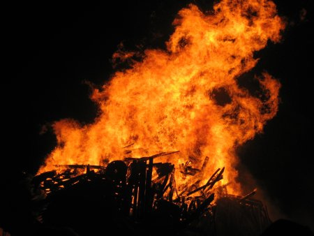 Will you be placing an effigy on your bonfire this November 5?