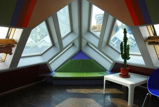 Rotterdam's Cube Houses (Interior)