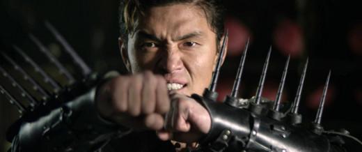 Zen Yi (Rick Yune) shows off his super suit.