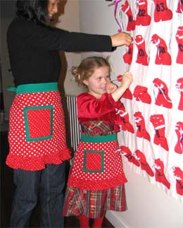 Christmas Apron Designs