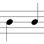 Two Quarter Notes