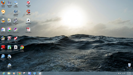 The Windows 8 Desktop