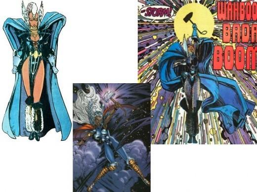 Storm Goddess of Thunder Costume, Asgard