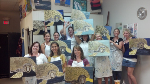 Fear No Easel-  Worry-free Painting Fun!