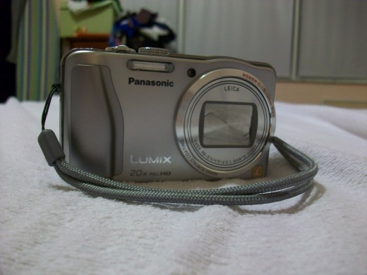 I had to take a picture of my new camera using my old camera!
