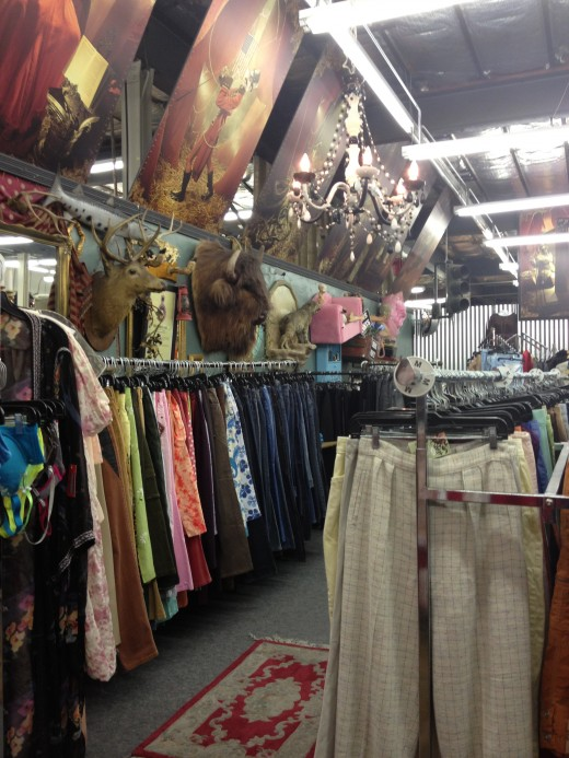 The clothing side, full of fun outfits and everyday clothes.