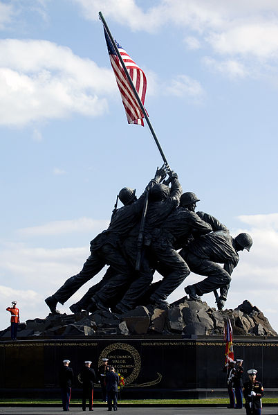 The Marine Corps Memorial