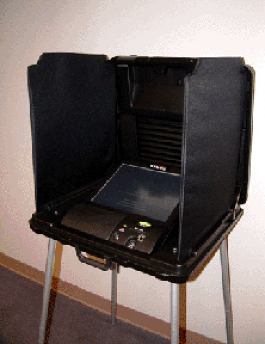 An example of a modern voting machine