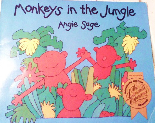 Monkeys In The Jungle-By Angie Sage.